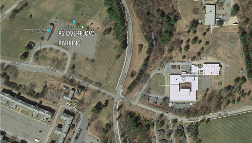Overflow Parking Map